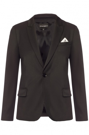 Blazer with pocket square od Emporio Armani