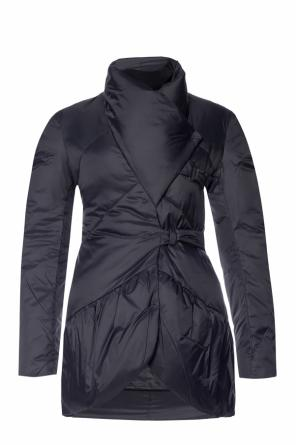 Asymmetrical insulated jacket od Emporio Armani