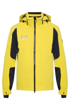 Detachable hood jacket od EA7 Emporio Armani