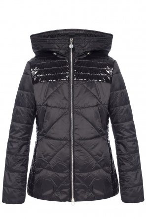 Quilted jacket with logo od EA7 Emporio Armani