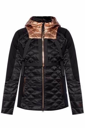 Quilted jacket with backpack od EA7 Emporio Armani