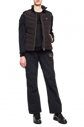 Quilted vest with logo od EA7 Emporio Armani