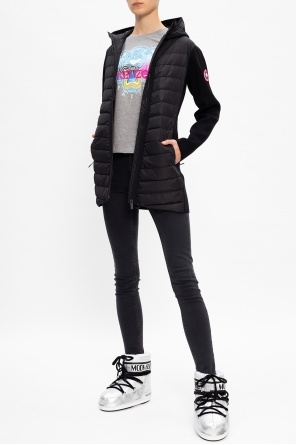 'hybridge' down front hoodie od Canada Goose
