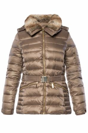 Hooded quilted jacket od Michael Kors