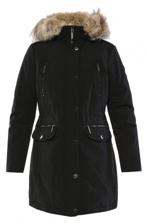 Fur-trimmed jacket od Michael Kors
