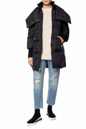 Branded quilted jacket od Michael Kors