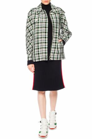 Jacket with plaid motif od Burberry
