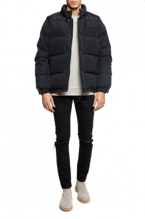 Quilted down jacket with logo od Burberry