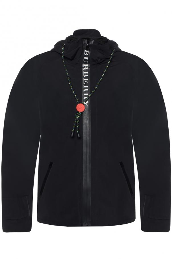 Logo-printed jacket od Burberry