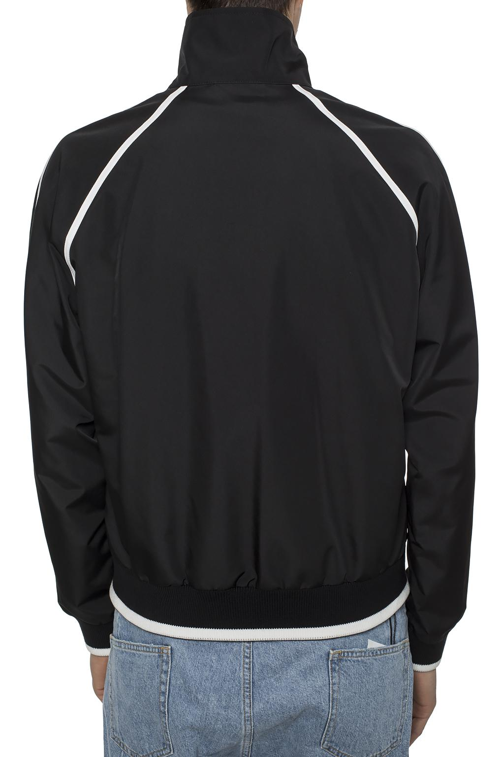 Burberry Band collar track jacket