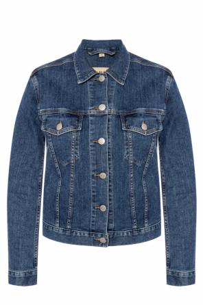 Branded denim jacket od Burberry