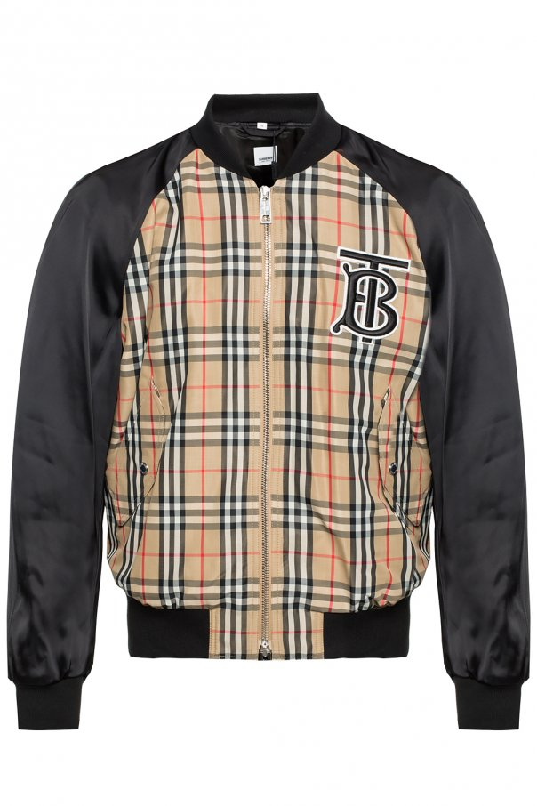 c9d55d242 Check bomber jacket Burberry - Vitkac shop online