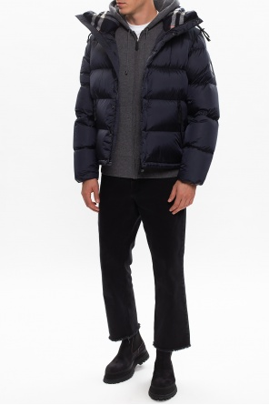 Hooded down jacket od Burberry