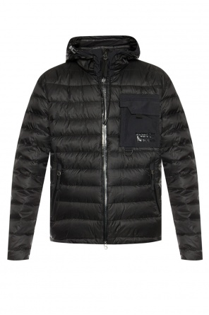 Hooded quilted jacket od Burberry
