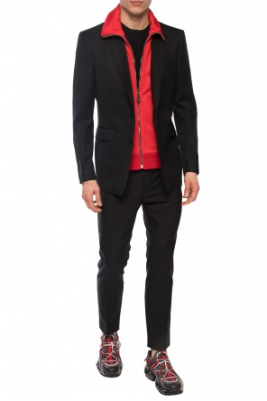 Blazer with notched lapels od Burberry