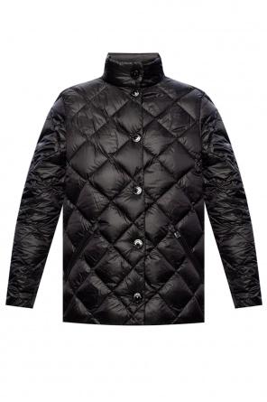 Down jacket with logo od Burberry