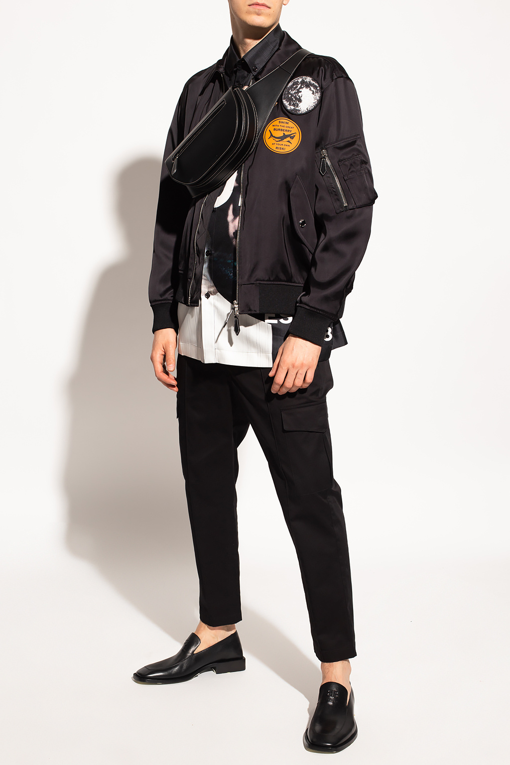 Burberry Patched jacket