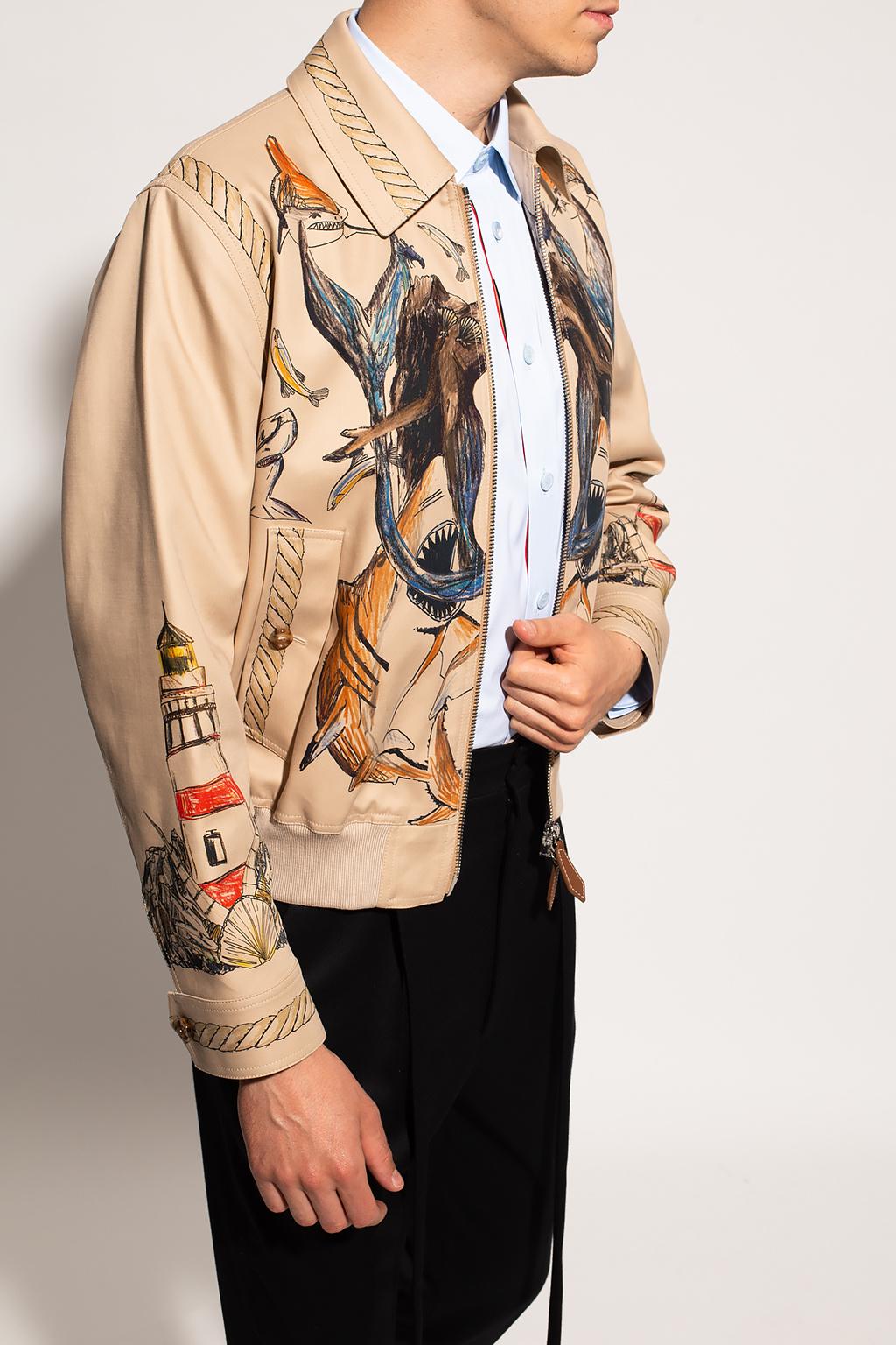 Burberry Printed jacket