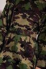 Burberry Camo-motif trench coat