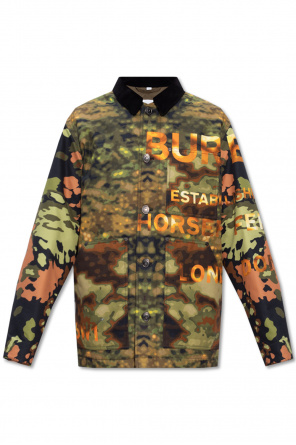 Camo jacket od Burberry