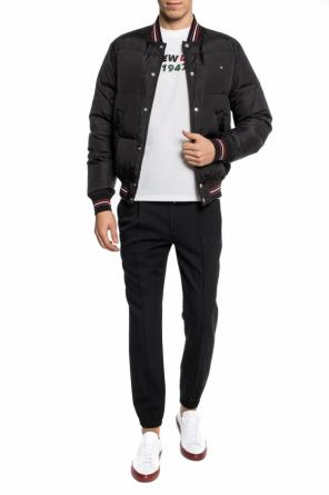 Quilted down jacket od Dior