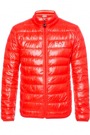 Down jacket with standing collar od EA7 Emporio Armani