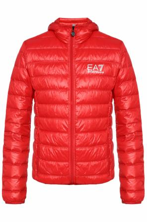 Hooded jacket od EA7 Emporio Armani