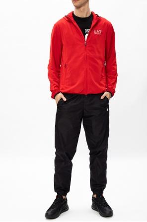 Jacket with reflective logo od EA7 Emporio Armani