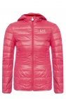 EA7 Emporio Armani Quilted down jacket with logo