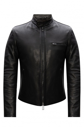 Leather jacket od Emporio Armani