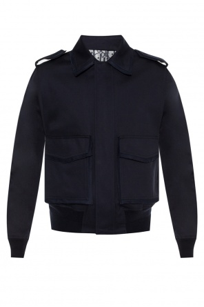 Raw-trimmed jacket od Dior