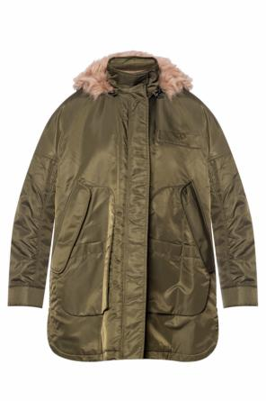 Shearling jacket od Yves Salomon