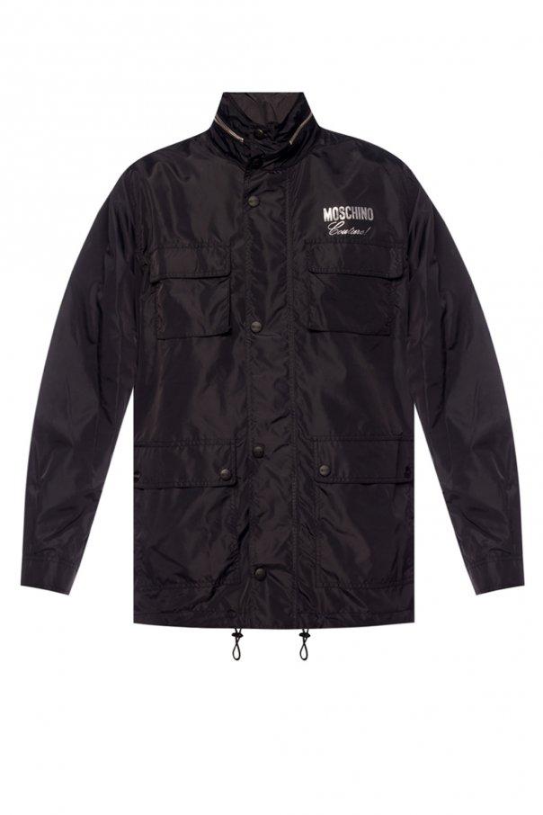 Moschino Logo-printed jacket