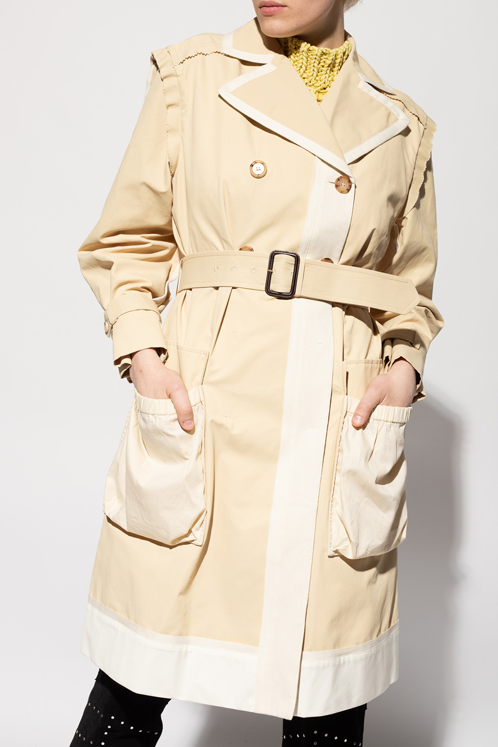 Moschino Double-breasted trench