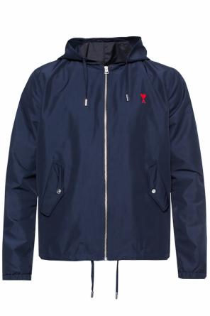 Hooded jacket with logo od Ami Alexandre Mattiussi