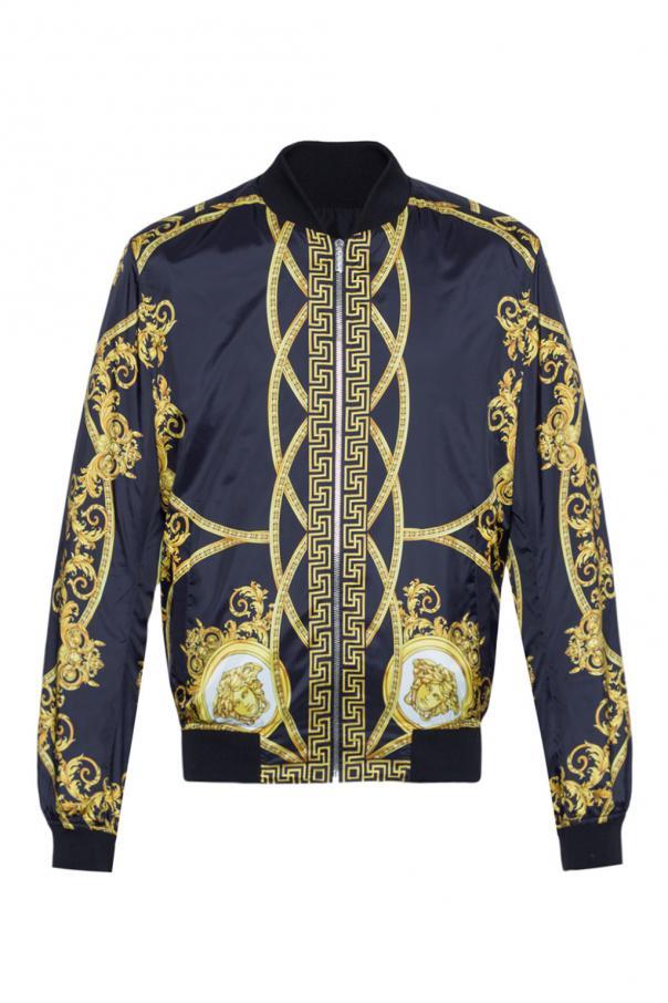 9943591673 Reversible bomber jacket Versace - Vitkac shop online