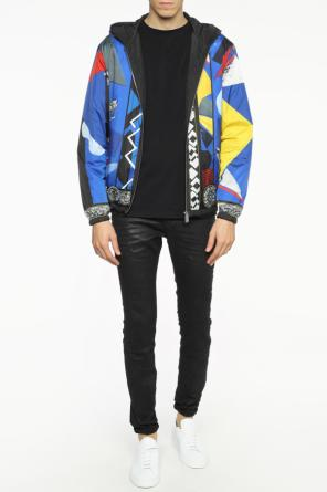 Reversible hooded jacket od Versace