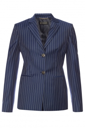 Striped blazer od Versace