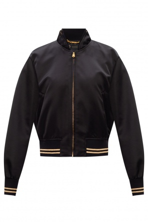 Bomber jacket with medusa head od Versace