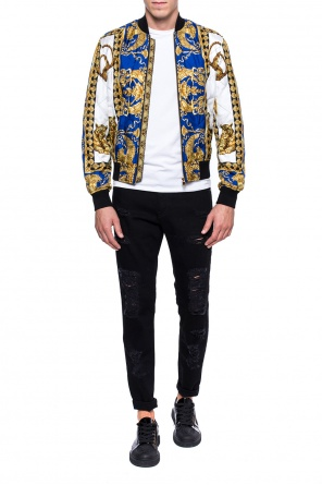 Printed bomber jacket od Versace