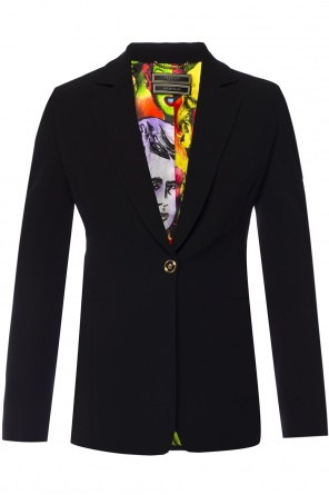 Blazer with decorative buttons od Versace