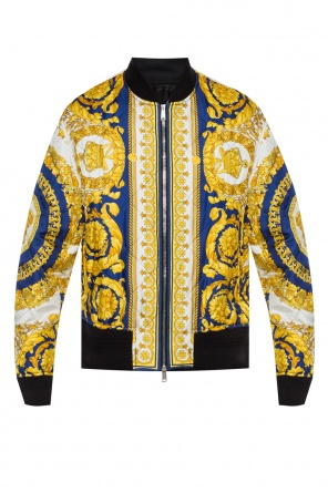 Patterned bomber jacket od Versace