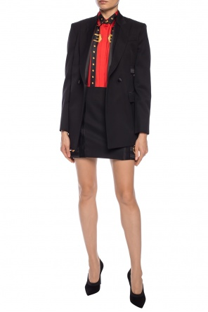 Blazer with decorative cut-out od Versace