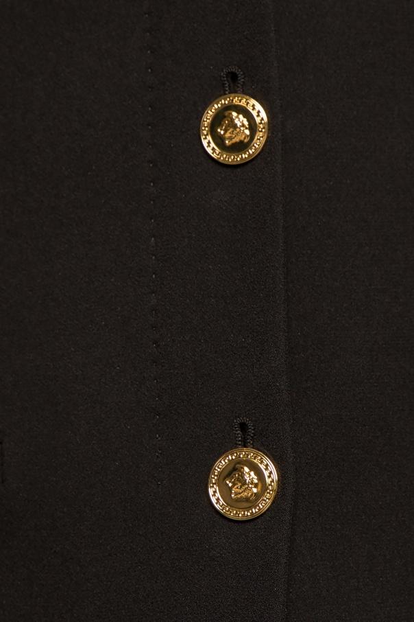 Blazer with logo od Versace