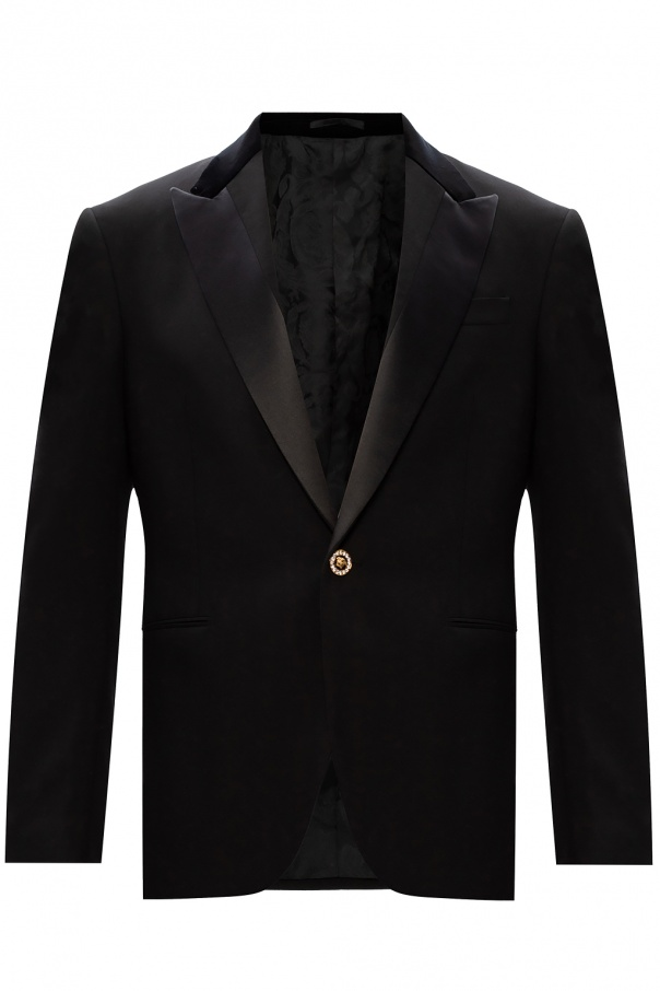Versace Blazer with velour inserts