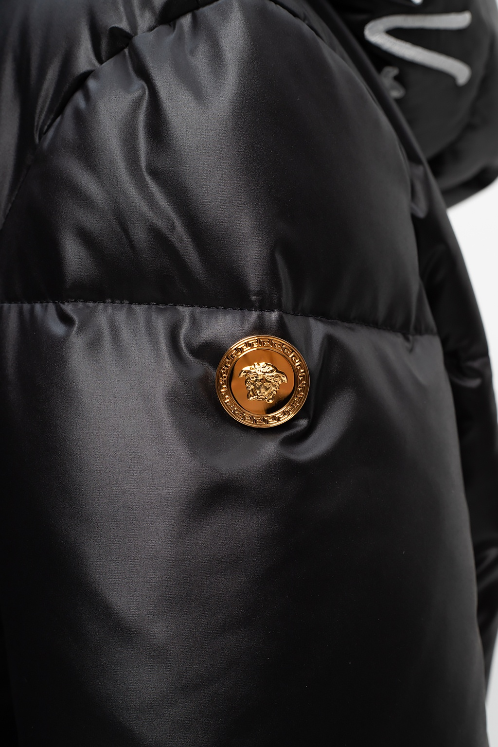 Versace Quilted down jacket