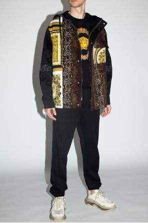Kurtka z nadrukiem od Versace