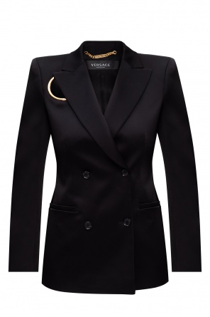 Blazer with notched lapels od Versace