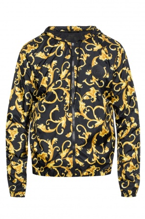 Jacket with a hood od Versace