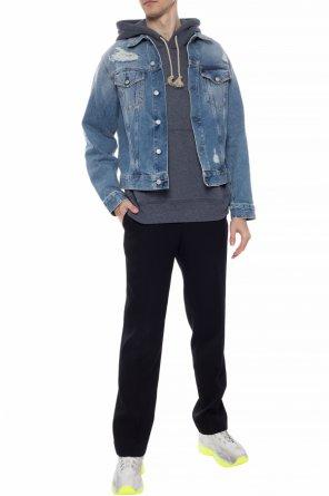 Stonewashed denim jacket od Acne